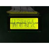 Quality 128 X 64 Graphic Lcd Display , Lcd Dot Matrix Display 5v Power Supply for sale
