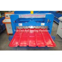 Quality IBR Trapezoidal Roof Glazed Tile Roll Forming Machine Sheet Metal Forming Equipment for sale