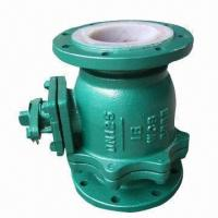 Quality PFA/PTFE Lined Ball Valve with Stainless Steel Body for sale