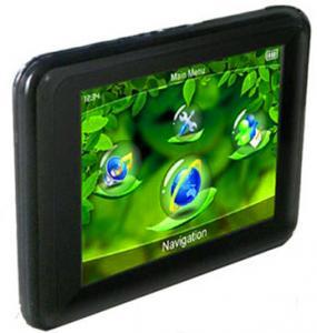 China 280cd/m2 With Touchscreen Display 64MB SDRAM  Bluetooth Satellite GPS Car Navigators on sale