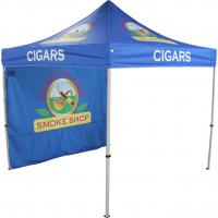 Quality Blue side wall printing Folding Gazebo Tent outdoor advertising show for sale