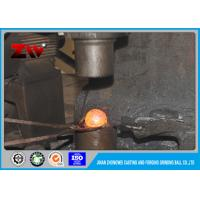 Quality Mining / Cement Plant  Hot rolled Forged grinding ball , grinding media balls for sale