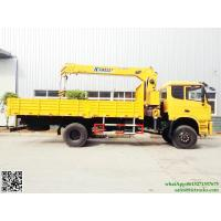 China dongfeng Truck Mounted Crane XCMG cranes 6T.m boom 4x4 off road  truck mounted crane Whatsp:8615271357675 on sale