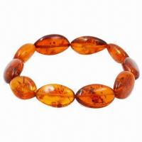 Quality Baltic Amber Fashionable Bracelet, Customized Designs Welcomed for sale