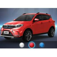 Quality RWD Wheelbase Mini Electric SUV With Air Conditioner 350km Travel Range Red for sale