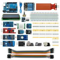 Quality UNO R3 Board 1602 Display Solderless Breadboard Starter Kit  For Arduino for sale