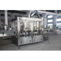 China 3 in 1 Glass Bottle Filling Machine With Aluminum Screw Cap , Beverage Filling Machine on sale