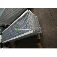 Angle Bar Welded Steel Grating , Reinforced Concrete Areas