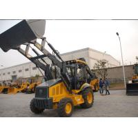 Quality Professional Tractor Loader Backhoe With 4 In 1 Bucket / Hydraulic Hammer for sale
