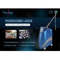 Quality Forimi CE approved 2500W korea 755nm laser tattoo removal pico second q switched nd yag laser for sale