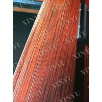 Quality 6063 T5 Wood Grain Transfer Printing Aluminium Extrusion Profile for Wardrobe for sale