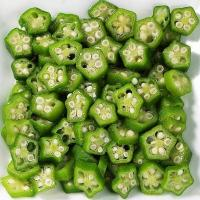 Quality Dehydrated Freeze Dried Okra for Frozen Dried Vegetables for sale
