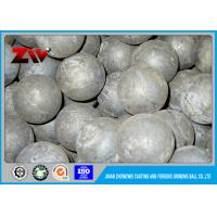 Quality HRC 60-68 Hot rolling steel ball mill balls for minings and cement plant for sale