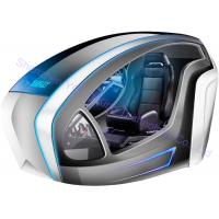 Quality 9D VR Car Racing Simulator Virtual Reality Driving Type One Player Fiberglass Material for sale