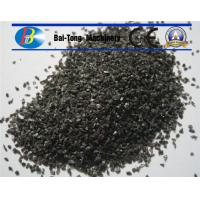 Quality Sandblasting Brown Aluminum Oxide Solid Grit Appearance For Metal Parts for sale