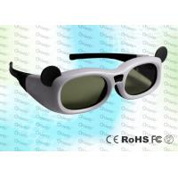 Quality Micro USB rechargeable Child style Japanese 3D TV IR Active Shutter 3D Glasses for sale