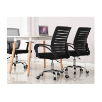 Quality Fixed Armrest Rotate Office Mesh Swivel Chair for sale