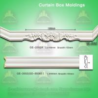 Quality PU curtain box mouldings for sale