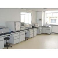 China Safety Chemistry Lab Furniture 16 Mm MDF With Melamine Board With PVC Handle on sale