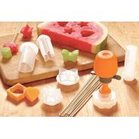 Quality Fruit Decoration Small Kitchen Tools White DIY Birthday Gifts 10 pcs Kit CIQ for sale
