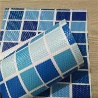 Quality swimming pool waterproofing membrane, 1.5mm, PVC, blue mosaic PVC swimming pool iner for sale