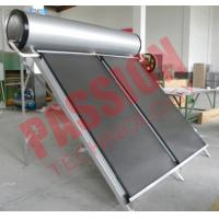 Quality Portable Solar Water Heater 300 Liter , Flat Panel Solar Water Heater System for sale