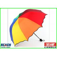 Quality Durable PVC Straight Custom Wind Resistant Umbrella For Adult for sale