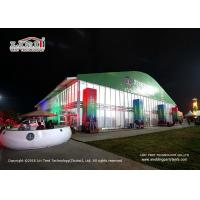Buy cheap 40m Width Dome Shape Aluminum and PVC Frame Tent with 8m Side Height for Outdoor from wholesalers