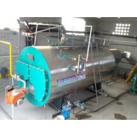 Quality WNS 2tph Heavy Oil Steam Boiler Horizontal For Greenhouse Heating System for sale
