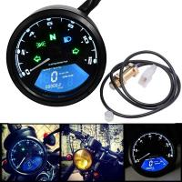 China NEW LCD Motorcycle Tachometer odometer speedometer 12v waterproof motorcycle gauge on sale