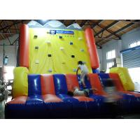 Quality Kids Outdoor Rocky Climbing Inflated Fun Games 10X10X10m Or Customized Size for sale