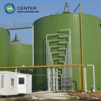 Quality Bolted Steel Dry Bulk Grain Storage Silos Impact Resistance 2 Years Warranty for sale