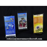 Quality Acrylic Menu Hoder For Restaurant Promotion Restaurant Menu Displayer for sale
