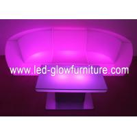 Quality CE , ROHS , UL Approval LED Sofa With remote control and adaptor For Exhibition and Events for sale