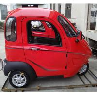 Quality Adults 60V 800W Enclosed Trike Motorcycle for sale