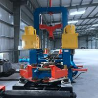 Quality T / I / H Beam Automatic Welding for Steel Structure Assembly and Welding and Straightening all in one Machine for sale