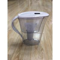 Quality ABS / AS White Countertop Alkaline Water Purifier Pitcher High PH Natural Filtration System for sale