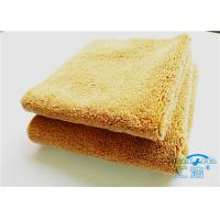 Buy 15mm High Pile Micro Fiber Cleaning Cloth Towel No Fading For Bathroom at wholesale prices