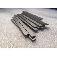 Quality Tungsten Carbide Bars / Strips For Metal Cutting , With 45 Degree Angle Surface for sale