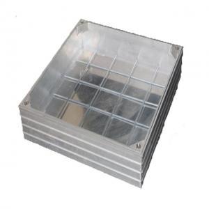 China Cutting Machine Aluminum Manhole Cover , Metal Drain Cover 312401~312408 on sale