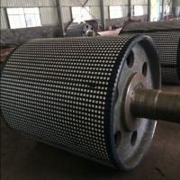 Quality Flame retardant ceramic lagging roll with length 10 meter for sale