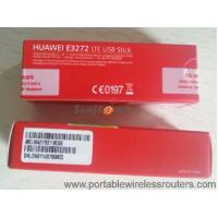 Quality Huawei E3272 4G LTE Modem With Hilink Auto Connect , 150Mbps Wireless Dongle For PC for sale