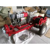 Quality Industrial Engine Driven Winch , Portable Heavy Duty Diesel Engine Hoist for sale