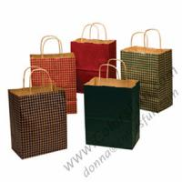 Quality Brown Paper Carry Bags with Twisted Handle for sale