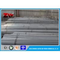 Quality Foundry Steel Ball Steel Grinding Rod / Grinding Cylpebs 75mr / 60Mn / 45# for sale