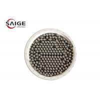 Buy G100 Aisi 1010 Carbon Steel Sphere , Professional Round Steel Balls Bright Surface at wholesale prices