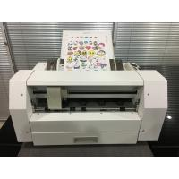 Quality Sheet to Sheet Vinyl Label Die Cutting machine , Label Sticker Cutting Machine VCT - LCS for sale