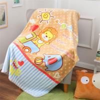 Quality Cute Screen Printed Blanket / Flannel Kids Throw Blanket High Warmth Retention for sale