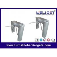 Quality Face Recognition Turnstile Security Systems , Terminal Waist Height Turnstile Gate for sale
