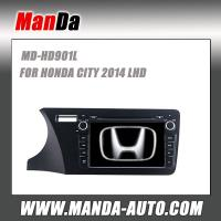 Quality double din Car audio for HONDA CITY 2014 LHD in-dash head units car dvd players gps satellite navigation system for sale